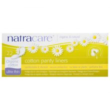 Natracare, Cotton Panty Liners, Ultra Thin, Organic Cotton, 22 Panty Liners