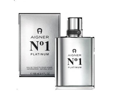 AIGNER N°1 Platinum  for men 100 ml