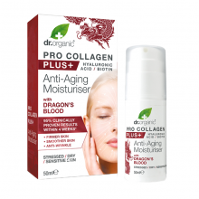 Dr Organic Dragons Blood Pro Collagen Plus Moisturiser 50ml