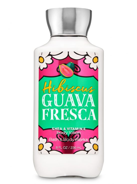 Hibiscus Guava Fresca Super Smooth Body Lotion by Bath And Body Works (Copy)